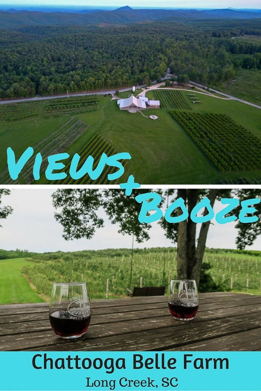 We stumbled upon a little piece of heaven at Chattooga Belle Farm in South Carolina - complete with gorgeous scenery, tasty drinks and great company!