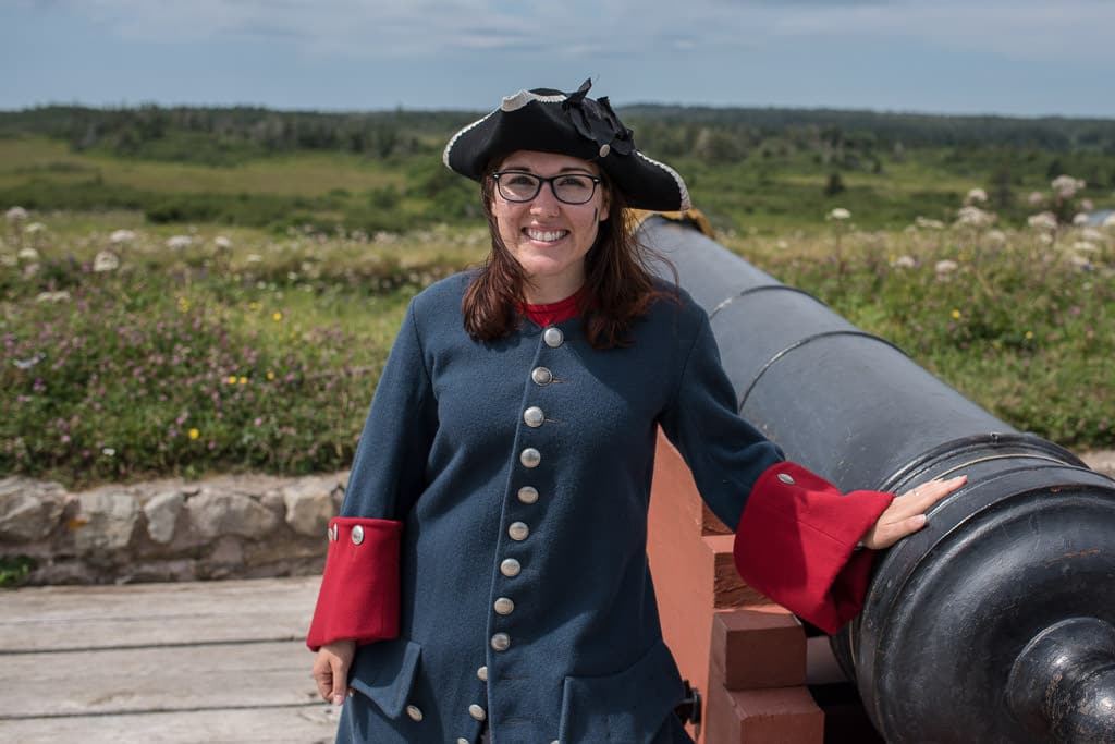 visiting the fortress of louisbourg