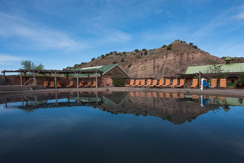 Rejuvenating & Romantic Getaway at Ojo Caliente Mineral Springs & Spa