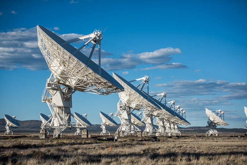 very large array, new mexico