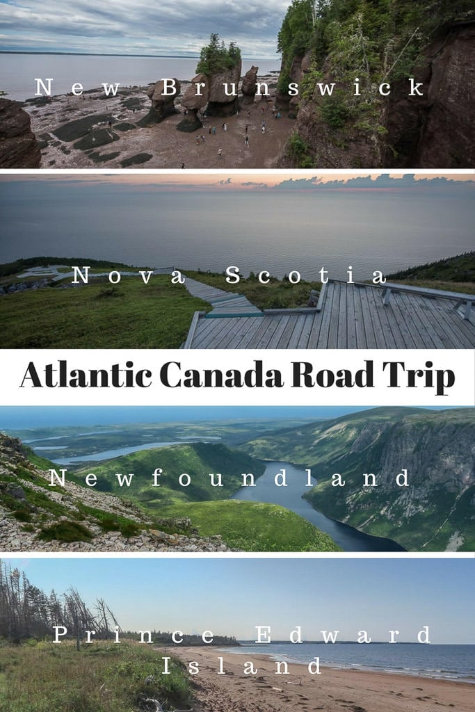 Canada\'s eastern-most provinces are each bucket-list worthy destinations, so we embarked on an epic nine-week Atlantic Canada RV road trip to see them all - New Brunswick, Nova Scotia, Newfoundland & Prince Edward Island.#canada #roadtrip #atlanticcanada #novascotia #PEI #newfoundland #newbrunswick #nationalparks