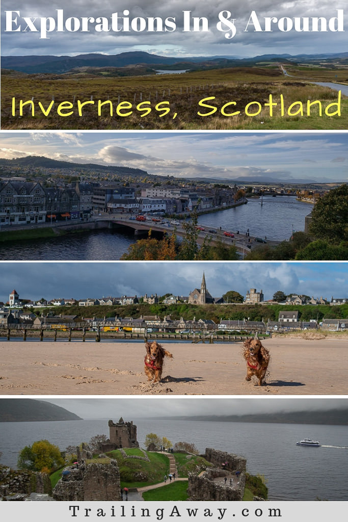 Headed to Inverness, Scotland? We spent five weeks there are got to explore a ton of this beautiful area in the Scottish Highlands. While well known for Loch Ness, there is so much more to see - including castles, beaches, waterfalls, and lots of gorgeous trails!#Inverness #Scotland #UK #Petsitting #travel #destinations