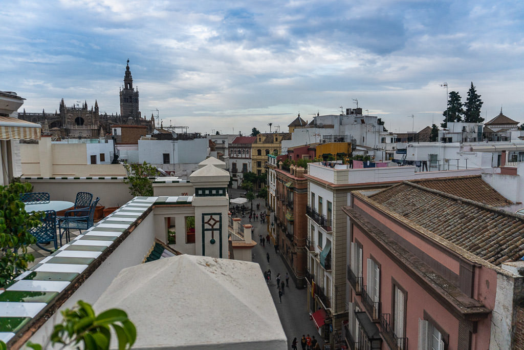 views above sevilla spain