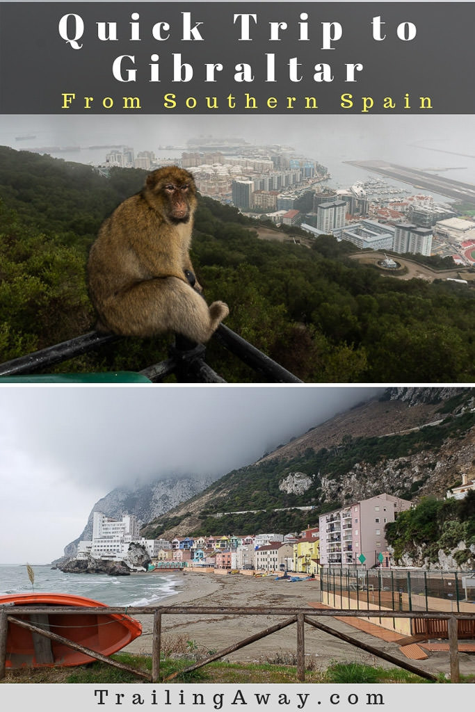 Wild monkeys, historic tunnels, and awesome views to Africa. Here\'s why you should make a quick trip to the rock of Gibraltar while exploring Europe. Read more for some of the best things to do to on a trip to the rock!#Gibraltar #England #Spain #Europe #monkeys #rockofgibraltar