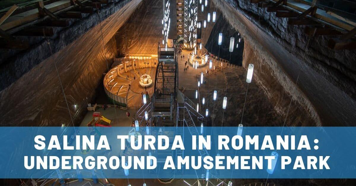 salina turda romania road trip