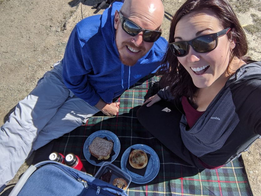 picnic at coronet peak near queenstown